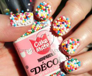 nails, sweet, and cute image
