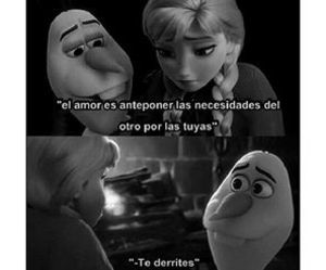 frases, love, and frozen image