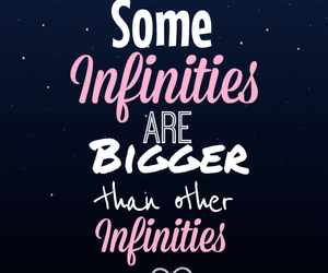 infinity, quotes, and the fault in our stars image