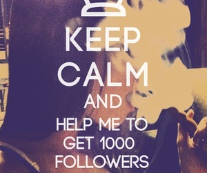 1000 followers, calm, and image image
