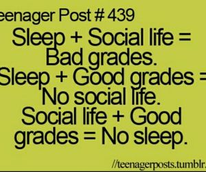 teenager post, quote, and social life image