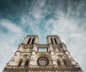 notre dame, paris, and travel image
