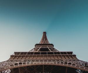 paris and sky image