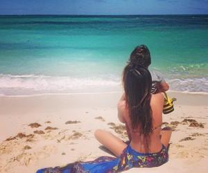 beach and miranda kerr image