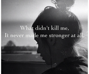 girl, quote, and strong image