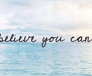 believe, ocean, and blue image