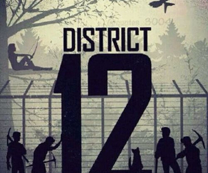 district 12, the hunger games, and hunger games image