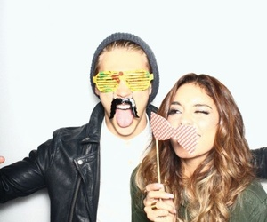 vanessa hudgens, austin butler, and cute image
