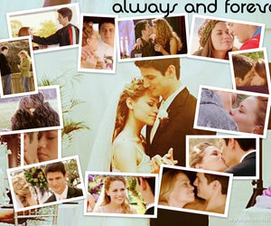 haley, wedding, and always and forever image