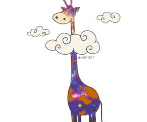 giraffe and overlay image