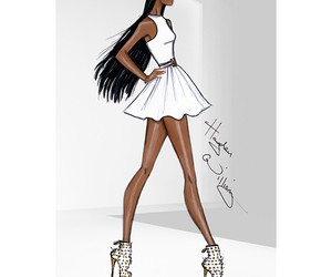 fashion and sketch image
