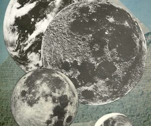 moon, indie, and grunge image
