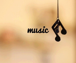 music, necklace, and vintage image