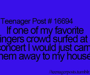teenager post, concert, and lol image