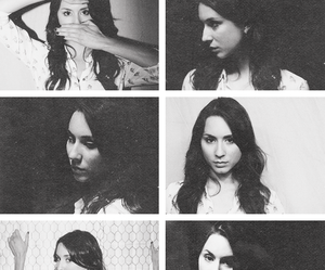 black and white, pretty little liars, and troian bellisario image
