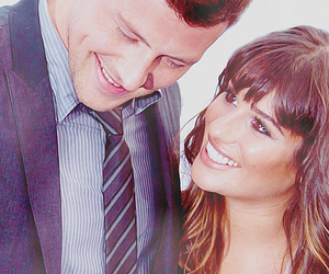 glee, leamichele, and love image
