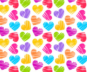 hearts, wallpaper, and love image