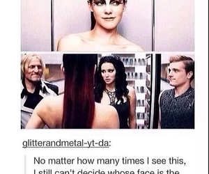 tumblr, hunger games, and katniss image