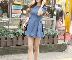 asian, girl, and korean fashion image