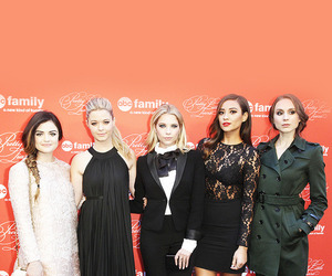 fashion, troian bellisario, and lucy hale image