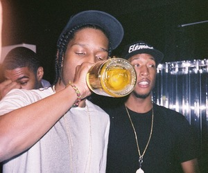 alcohol, cannabis, and rapper image