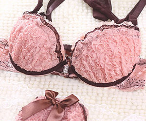 and, bra, and lace image