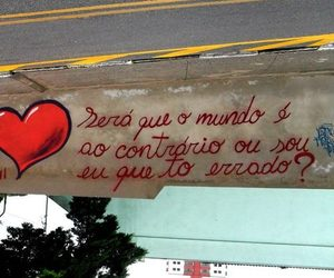 city, brazilian quotes, and heart image