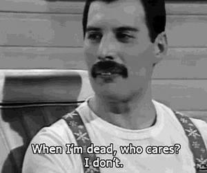 Freddie Mercury, Queen, and dead image