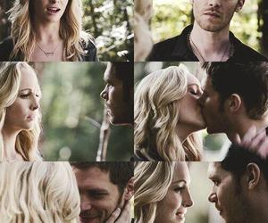caroline, joseph morgan, and the vampire diaries image