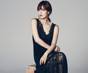 black dress, kim so yeon, and 1st look image