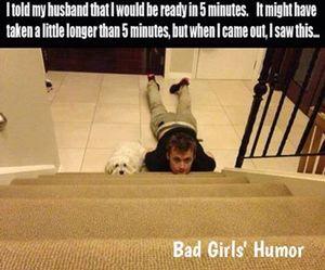 funny, dog, and husband image