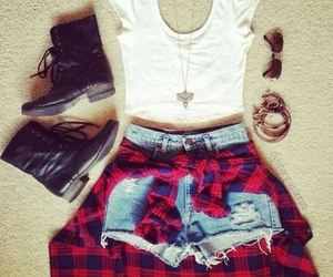 cloths, heels, and outfit image