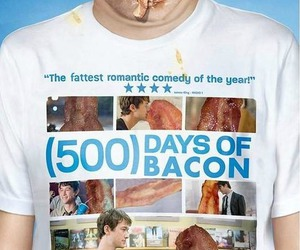 500 Days of Summer, bacon, and food image