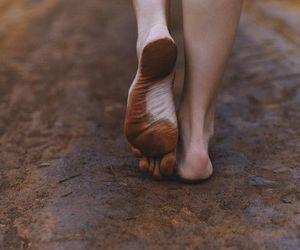 feet, mud, and walk image