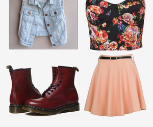 adorable, doc martens, and fashion image