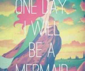 mermaid, disney, and ariel image