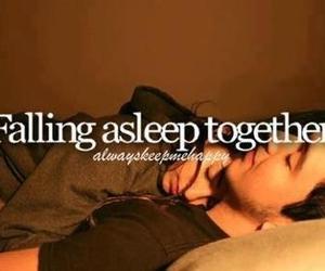 adorable, together, and asleep image