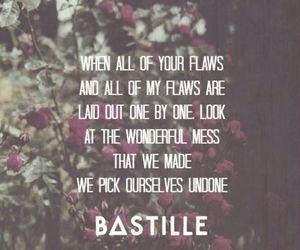 bastille, flaws, and Lyrics image