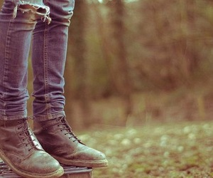 shoes, jeans, and boots image