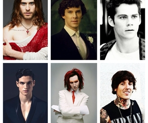 jared leto, oliver sykes, and marlin manson image