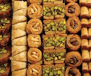 baklava, yummy, and delicious image