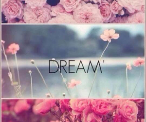 Dream and flowers image