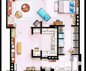 Carrie Bradshaw, apartment, and sex and the city image