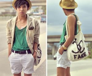 boy, chanel, and fashion image