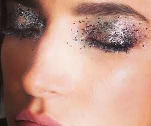 glitter, lovely, and makeup image