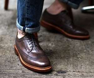 brown and shoes image