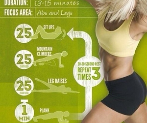 challenge, fitness, and healthy image