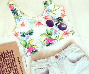 beach, shorts, and style image