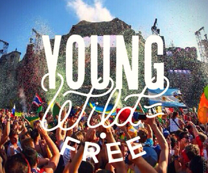young, free, and party image