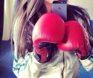 boxing, fit, and gloves image